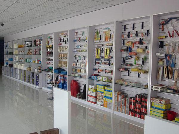 日洋专卖店工具产品陈列
