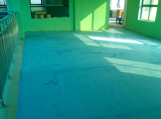 窩城鎮第一幼兒園pvc地板
