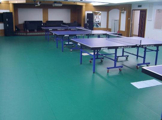 优宝乒乓球场PVC地板