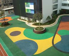 优宝幼儿园地板施工案例