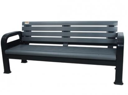 铝合金氟碳灰休息椅BM-1003