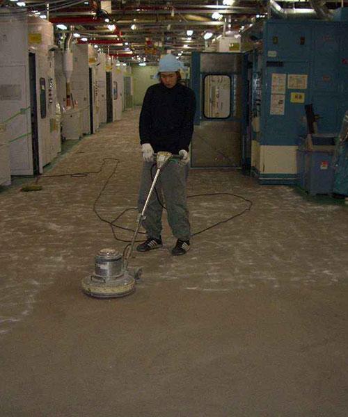天富旧地面起砂、起灰翻新地坪