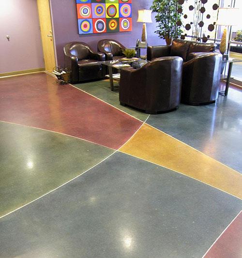 CS002彩色水泥基自流平地坪
