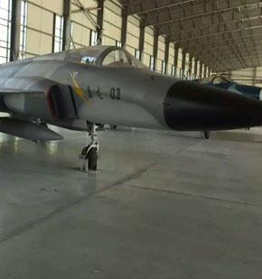 浙江歼七战机航空博物馆使用金铸固化剂(JZ-SN型)