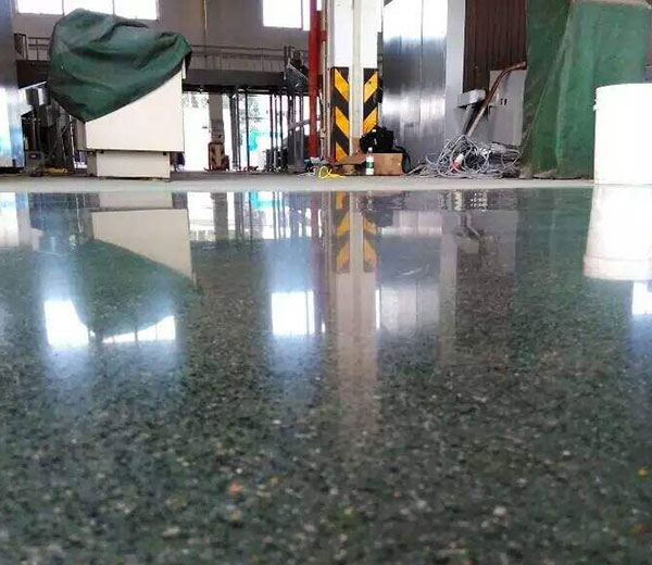 LXP-激光找平+金刚砂+固化地坪