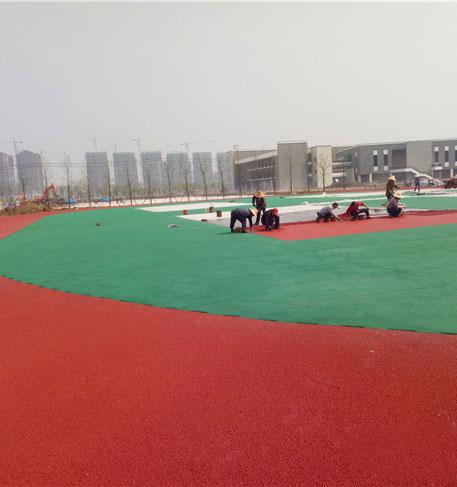 安徽肥东一中新校区塑胶跑道