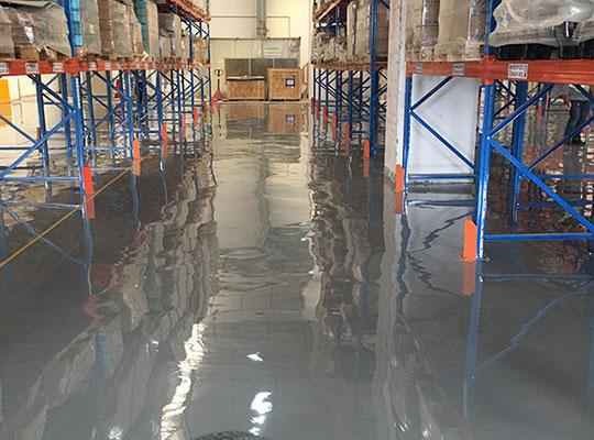 庄信万丰上海化工有限公司环氧自流平地坪