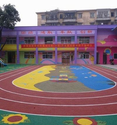 幼儿园卡通操场