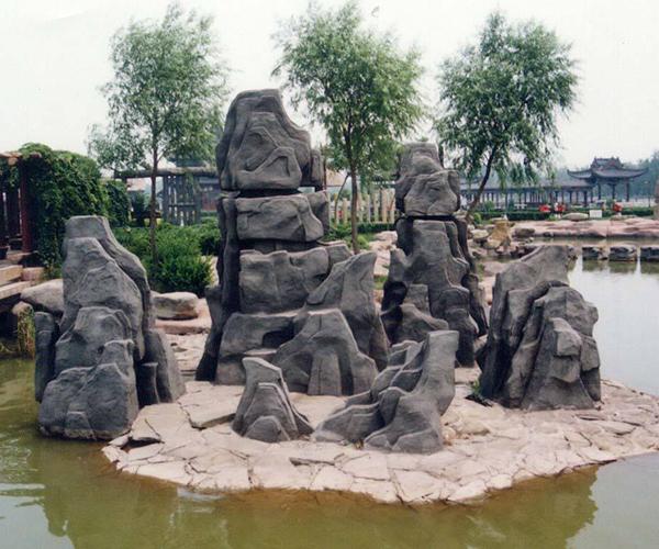 MY-假山、塑石、雕塑、喷射砂浆