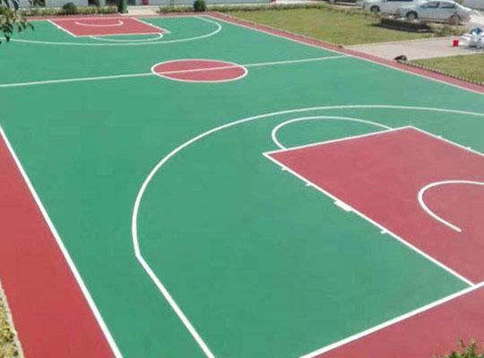 球場地板施工案例