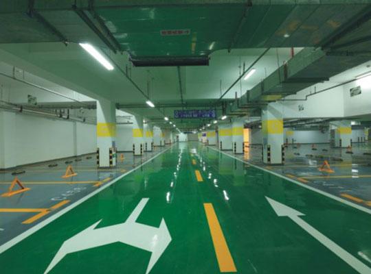 CEMKRETE停车场动/静态区域施工