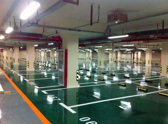 停车场整体设计工程系统