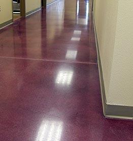 玛贝彩色混凝土密封固化地坪