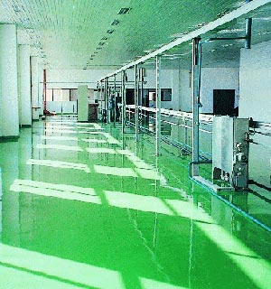 KWEP-05环氧防静电自流平地坪