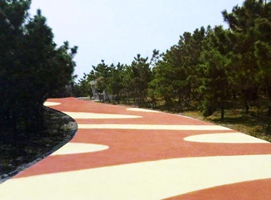 水性彩色地坪