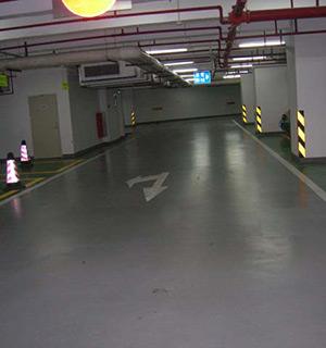上海正地大厦地下车库