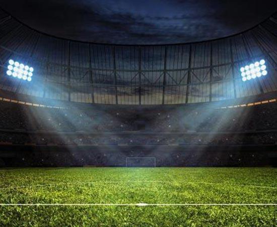 球场灯光、围网
