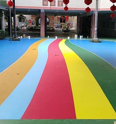 质信EPDM幼儿园运动场