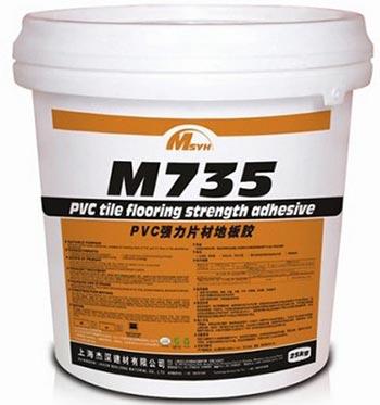 美圣雅恒M735PVC片材塑胶地板专用胶水