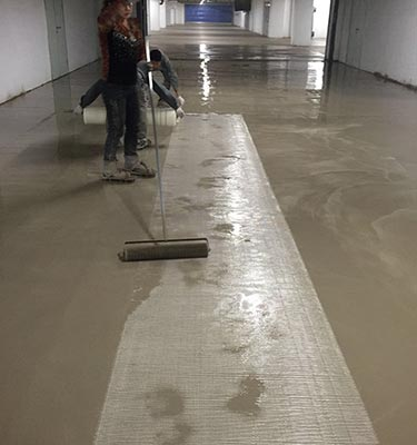 水泥自流平地坪