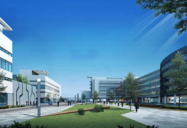 沣西经济园中心
