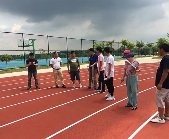 广东机电职业技术学院北校区运动场