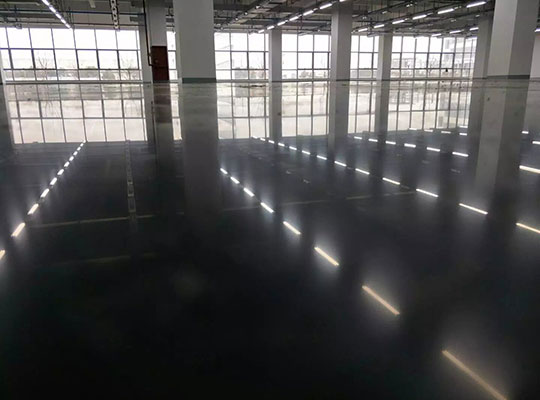 带你了解水泥硬化地坪的施工过程及其优势