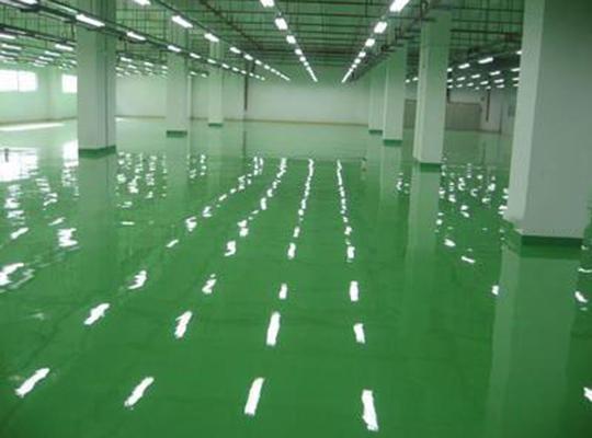 地坪漆施工时怎样有效控制进度