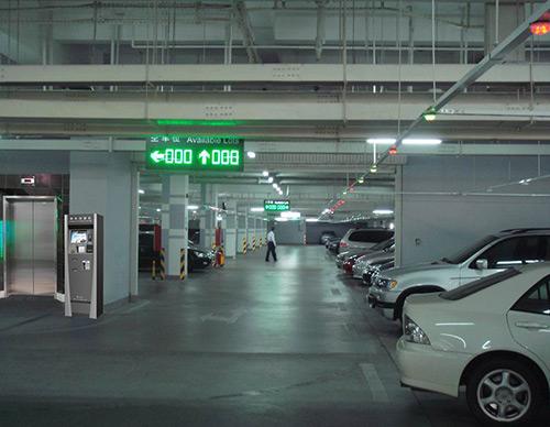 停車場引導指示燈箱