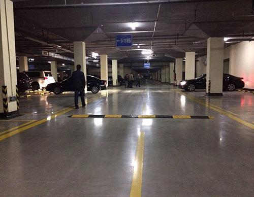 停車場混凝土密封固化劑地坪