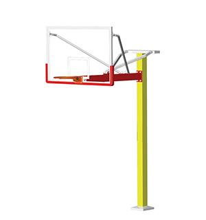 JKTY-2019方管固定式篮球架