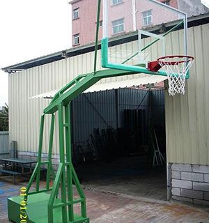 002B高档仿液压篮球架