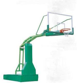 002电动液压篮球架