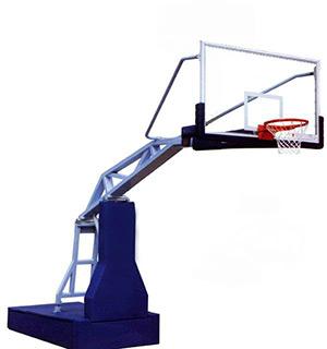 001高档电动液压篮球架