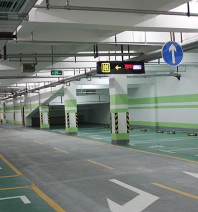物华国际车库施工