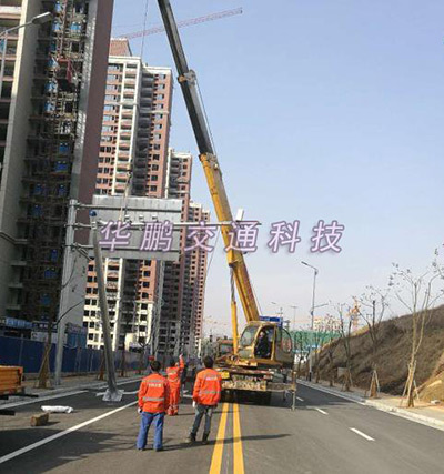 南昌交通警示牌:新建县案例