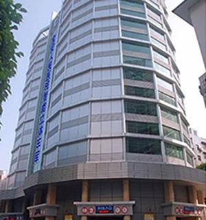 深圳市宝安人民医院智能立体停车楼