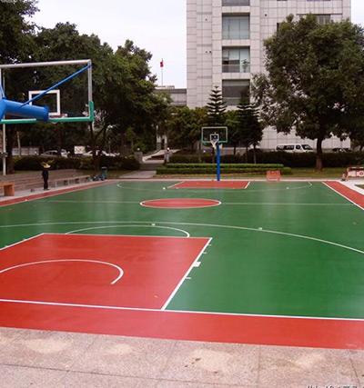 徐州市泉山区政府硅PU篮球场