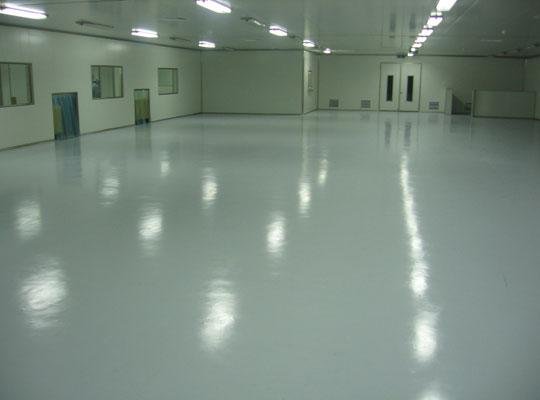 如何为地面涂装环氧树脂地面漆?