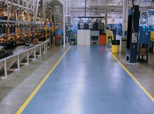 金剛砂地坪漆提升產品表面的耐磨性