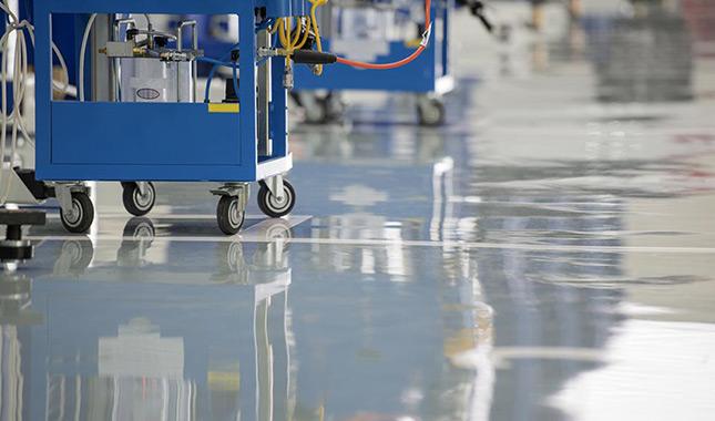 地坪漆施工怎样预防起痱子?
