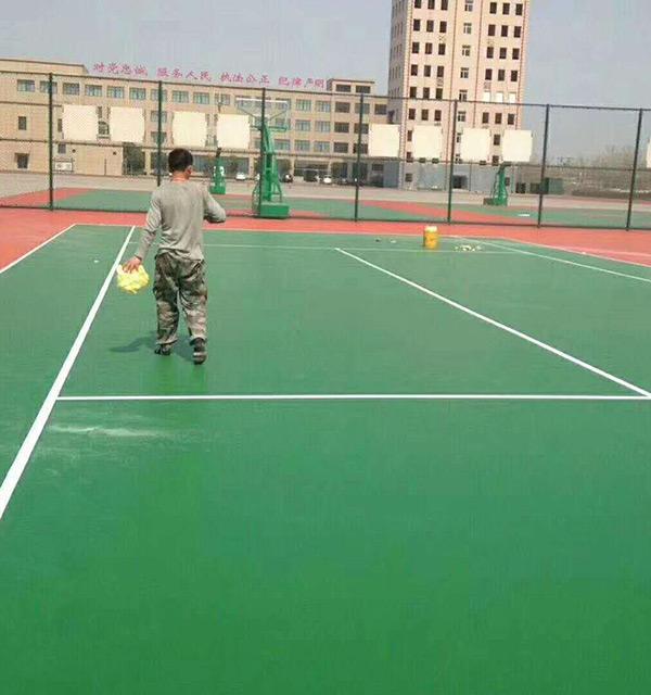 球场地坪施工