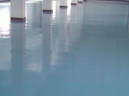 彩色水泥自流平地坪