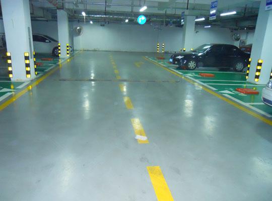 停車場通道地坪