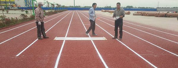 新鄉縣成名中學混合型跑道