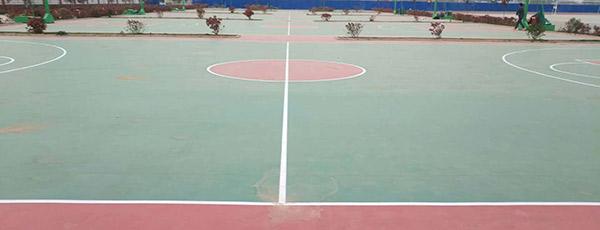 新鄉縣成名中學室外pvc球場