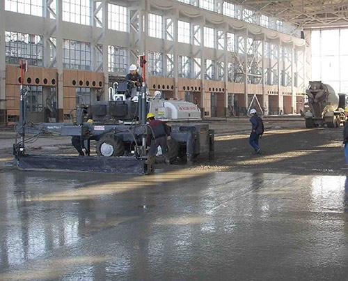钢纤维重载超平地坪