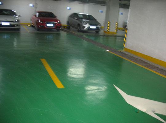 如何判断停车场密封固化剂地坪质量好坏?
