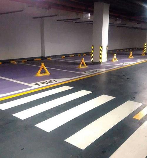 地下停车场施工案例
