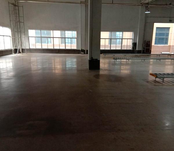 固化地坪施工案例